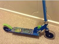 pair of monster university scooters