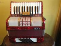 Bell 48 bass accordion