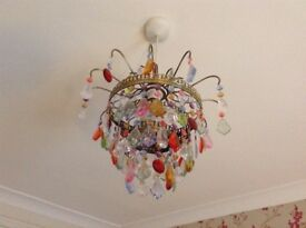 Chandelier type lampshade
