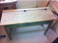Childs wooden desk