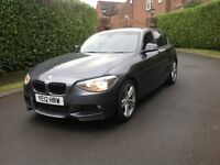 BMW 1 SERIES 120 M SPORT 177 BHP FULL BMW SERVICE HISTORY 73K FULLY LOADED GREAT BARGAIN PRICE £7395