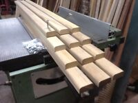 Bench Seat Slats-Hardwood African Iroko-4ft Length for Cast Iron Bench Ends + Stainless Steel Bolts.