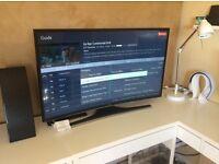 "Samsung 40"" 4K Curved LED TV (UE40JU6500K) - 5 Year Guarantee John Lewis"