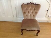 Gorgeous decorative vintage chair