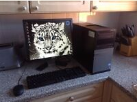 Complete i3 desktop PC system with windows 7