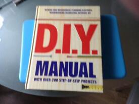 DIY Manual as new condition