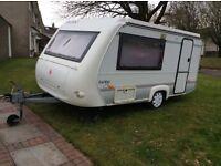 Rapido Club 32T pop top caravan, light weight, 2 berth