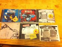 Metallica CDs music ORIGINAL singles and maxi singles