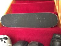 Skate board and accessories