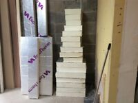 100mm insulation board off cuts