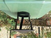 Clamp on Coolie chimney hat plus winter cover for Narrowboat