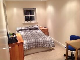 Double room to rent and full use of facilities in spacious flat - All bills included