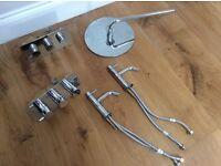 Luxury bathroom mixtures tap bath shower & mixer