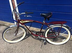 American style bicycle based on the Schwinn,