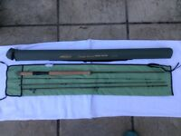 """Unused Airflow Airtec Switch fly rod 11'3"""" #7 and Dragonfly large arbor reel"""