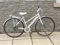 Hand built Limited Edition Raleigh Ladies Bicycle