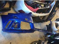 2014 ONWARDS AUDI RS6 4G0 NEW SHAPE FRONT BUMPER GENUINE