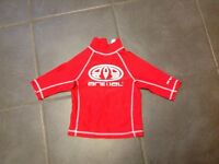 Childs rash vest, age 7-8