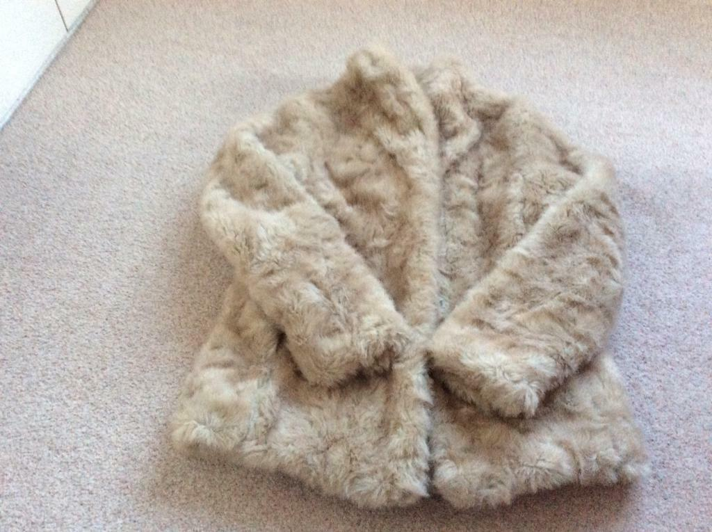 25d051e66f Faux fur coat. Long Ashton ...