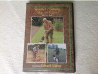 Spaniel Training Master Class DVDs x 3 featuring Edward Martin