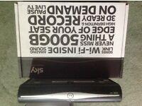Sky+ HD wifi box 500Gb
