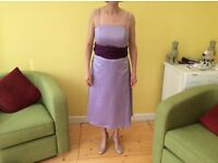 Lilac Bridesmaid/Prom Dress Size 10/12