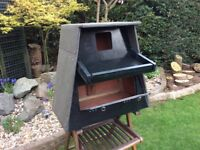 Barn owl box made to barn owl trust specifications