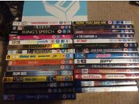 Bundle of DVDS / TV boxsets / blu rays