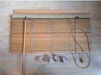 IKEA wooden Venetian blind 50cm wide
