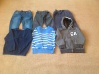 NEXT ,M&S boys trousers and jumpers