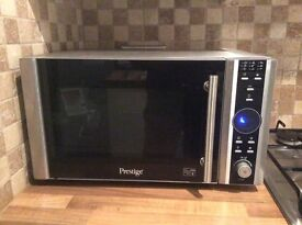 Prestige combi microwave, oven and grill - 23 litres