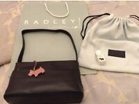 Brand new Radley leather handbag, dustbag and cleaning creme