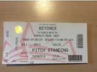 Beyonce Cardiff Ticket 30 June - Pitch Standing