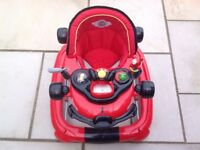Baby walker for sale - red racing car