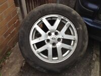 Land Rover discovery TD6 18 inch alloy wheels