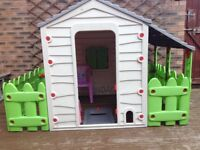Outdoor child's house