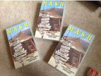 The collectors Edition of M ASH the original Tv series 3videos