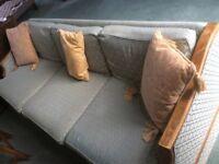 Antique four seater sofa