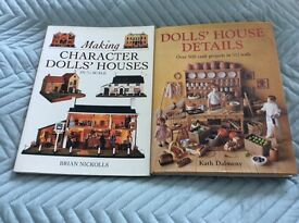 Dolls house books x 2