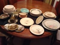 Lot of Poole pottery,plates, bowls etc 49 items, all for £20.00