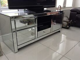 Next -TV unit and multi media mirrored unit REDUCED