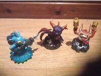Skylanders power portal with 3 Imaginators