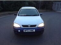 2003/03 VAUXHALL ASTRA VAN 1.7DTI/UNWANTED P/X MOT JUNE 2017 PRICED TO SELL NO LOGBOOK !!!
