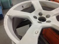 ALLOY WHEEL KERB DAMAGE AND CRACKED WHEELS TIG WELDED BY PROFESSIONAL