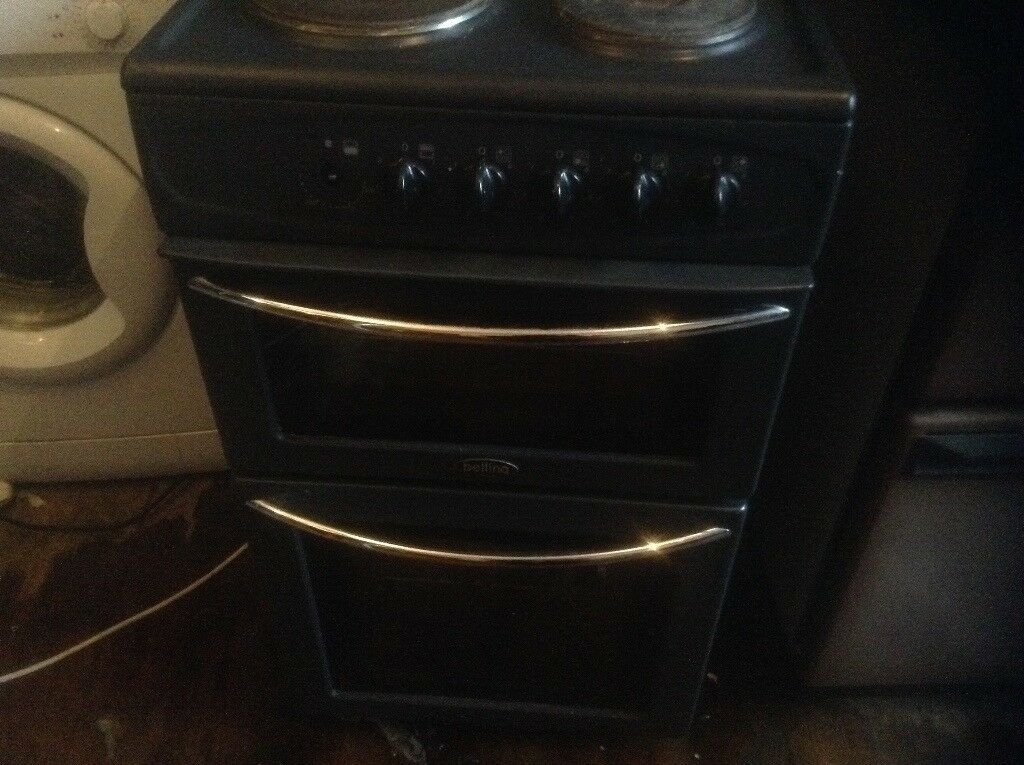 Electric cooker black,£75.00