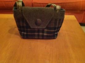 NTS Tartan Tweed handbag