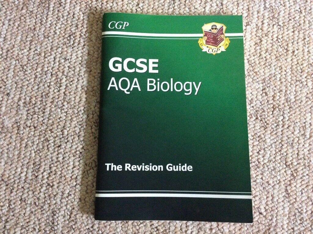 GCSE AQA biology revision guide book