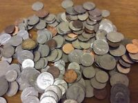 Buying leftover, unwanted US coins, old or dirty USA coins from the loft American or any world coins