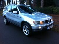 BMW X5 3.0D SPORT EDITION, AUTOMATIC JEEP, LOW MILEAGE, 12 MONTH MOT, FULLY LOADED, SAT NAV, BARGAIN