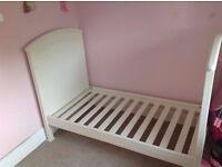 mamas and papas summerhouse cot bed and wardrobe